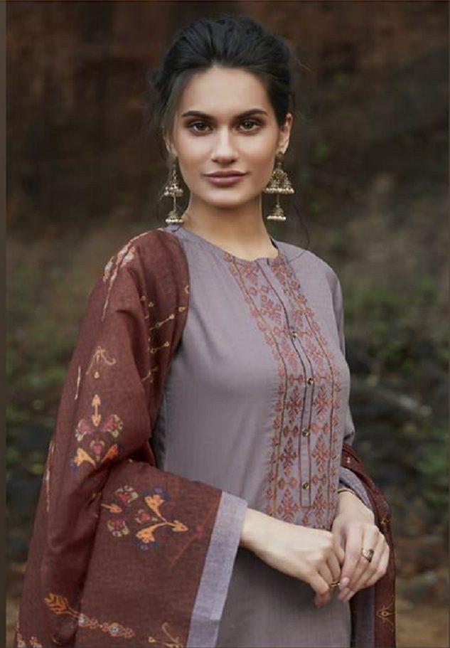 6f2b984968 Sudriti Marina Cotton Satin Digital Print With Embroidery Suit 175 ...