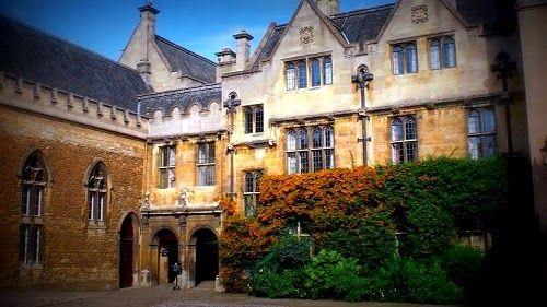 Pin Auf Oxford University