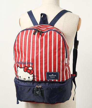 d04f9bccf66f Hello Kitty x Hallmark 2Way Foldable Backpack  hellokitty  foldablebag   backpack  bag