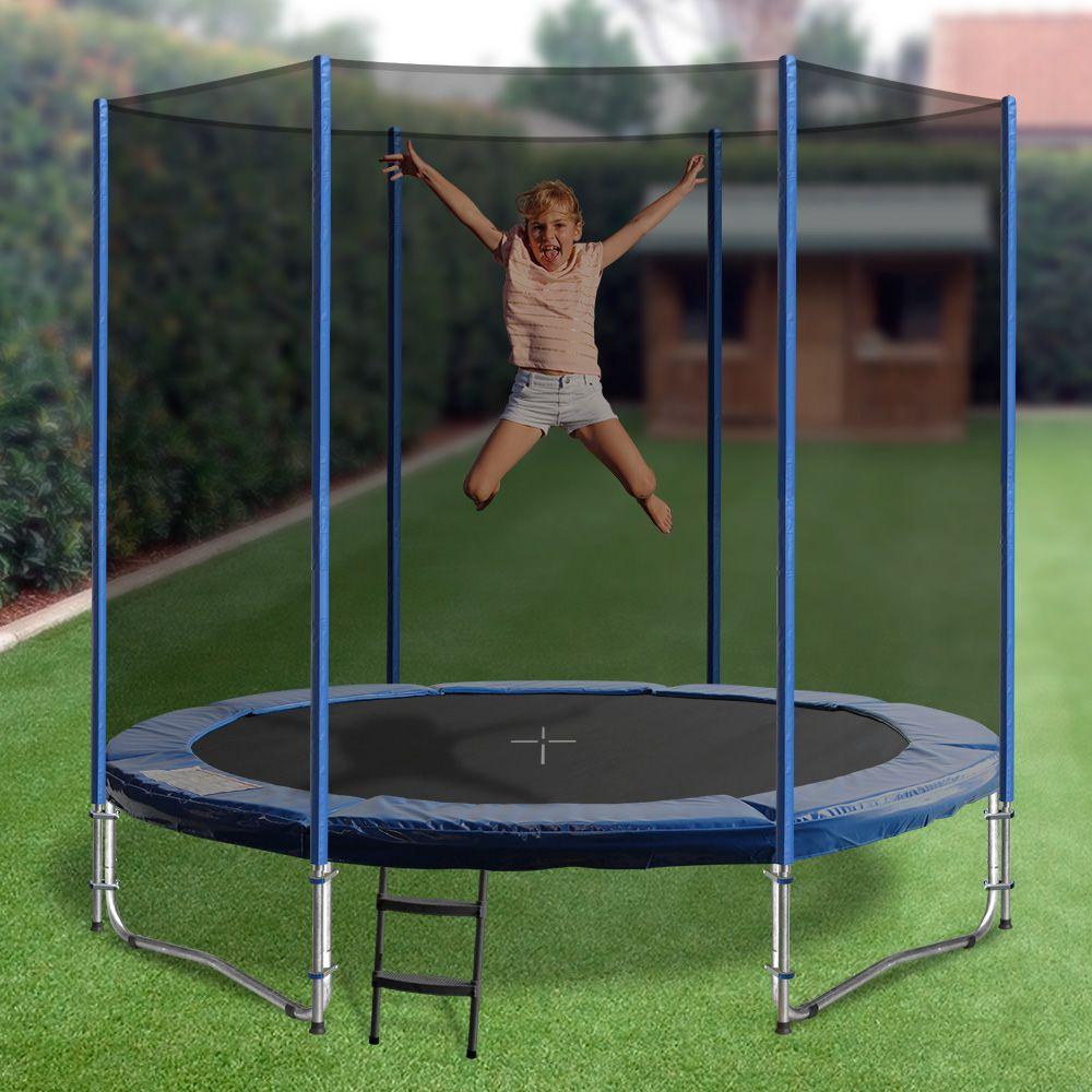 6ft Round Summit Trampoline 6ft trampoline, Backyard