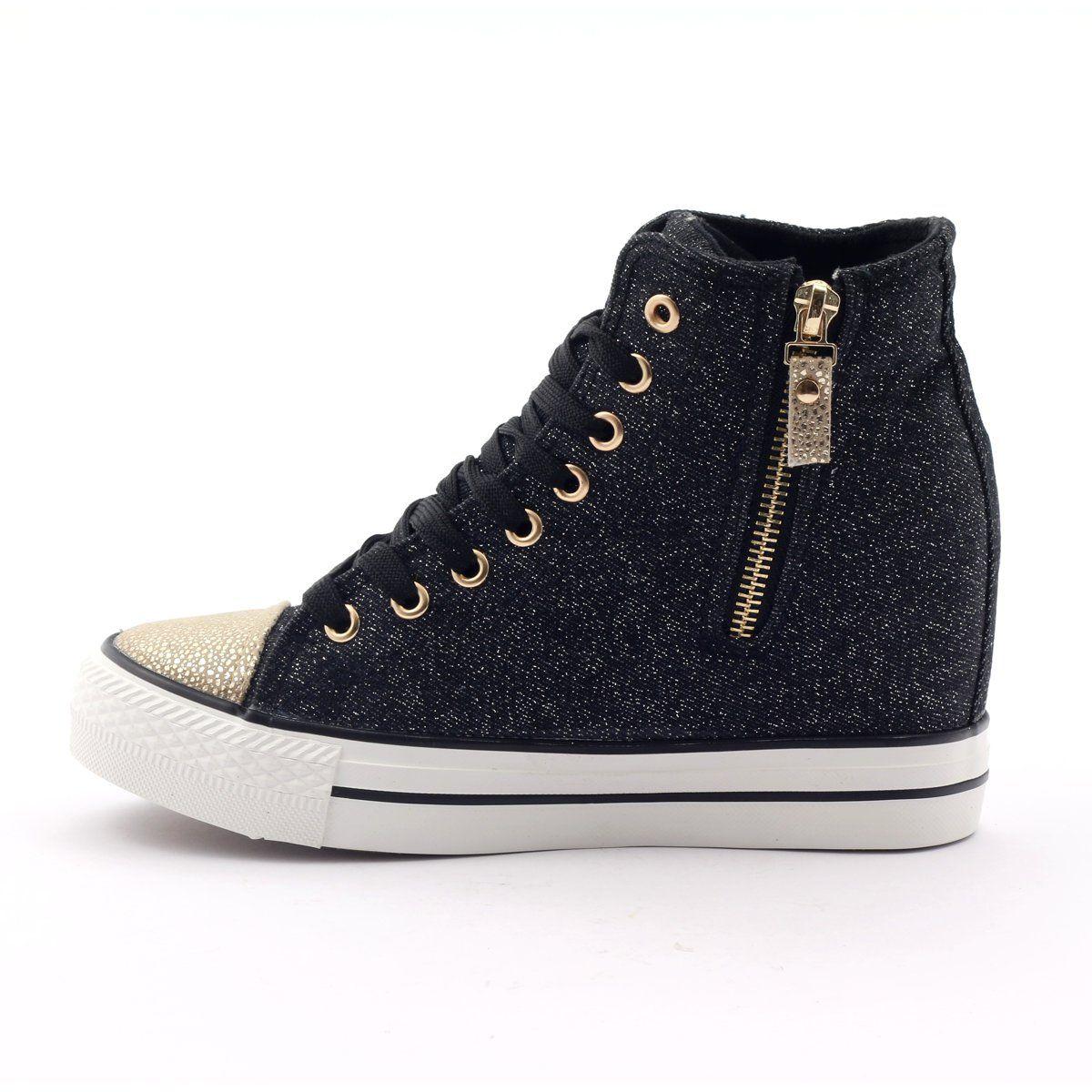 Mcarthur Sneakers Sneakers Black Yellow Sneakers Black Women Shoes Sneakers