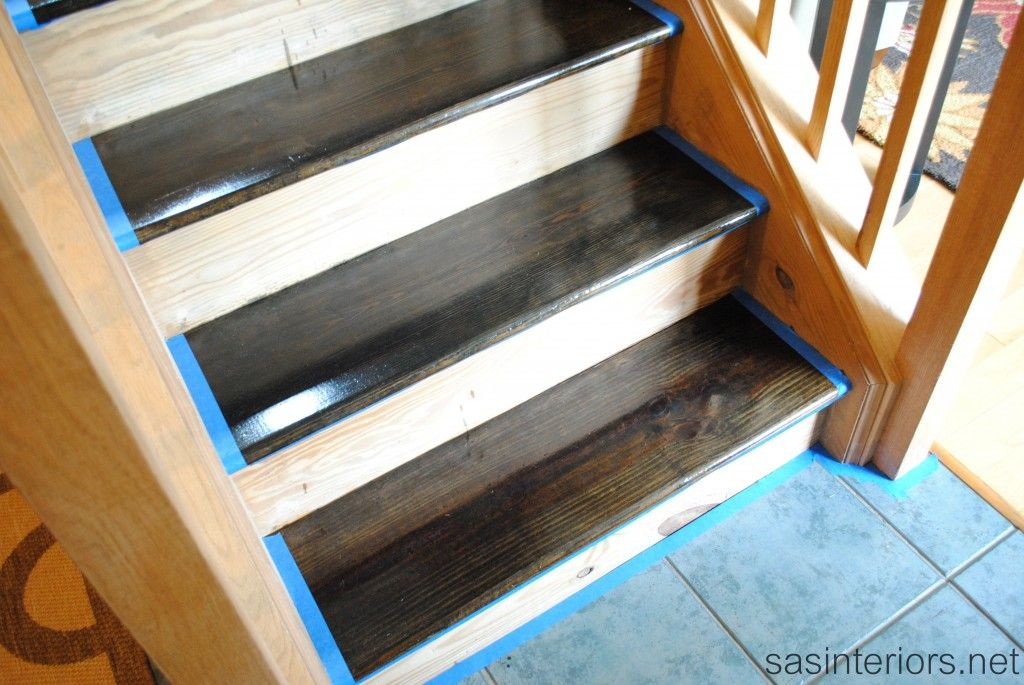 Best Diy Stair Treads Staining Wood Stairs Wood Stairs 400 x 300