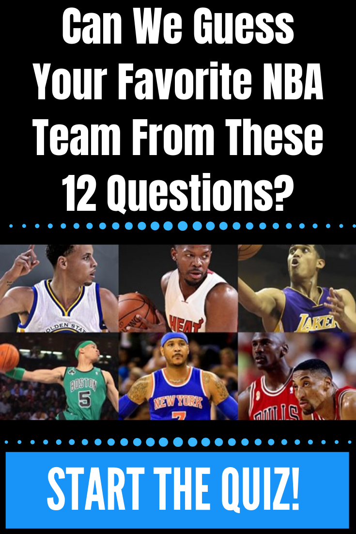 inomhus jag äter frukost involverade  Can We Guess Your Favorite NBA Team From These 12 Questions? | This or that  questions, Nba, Basketball movies