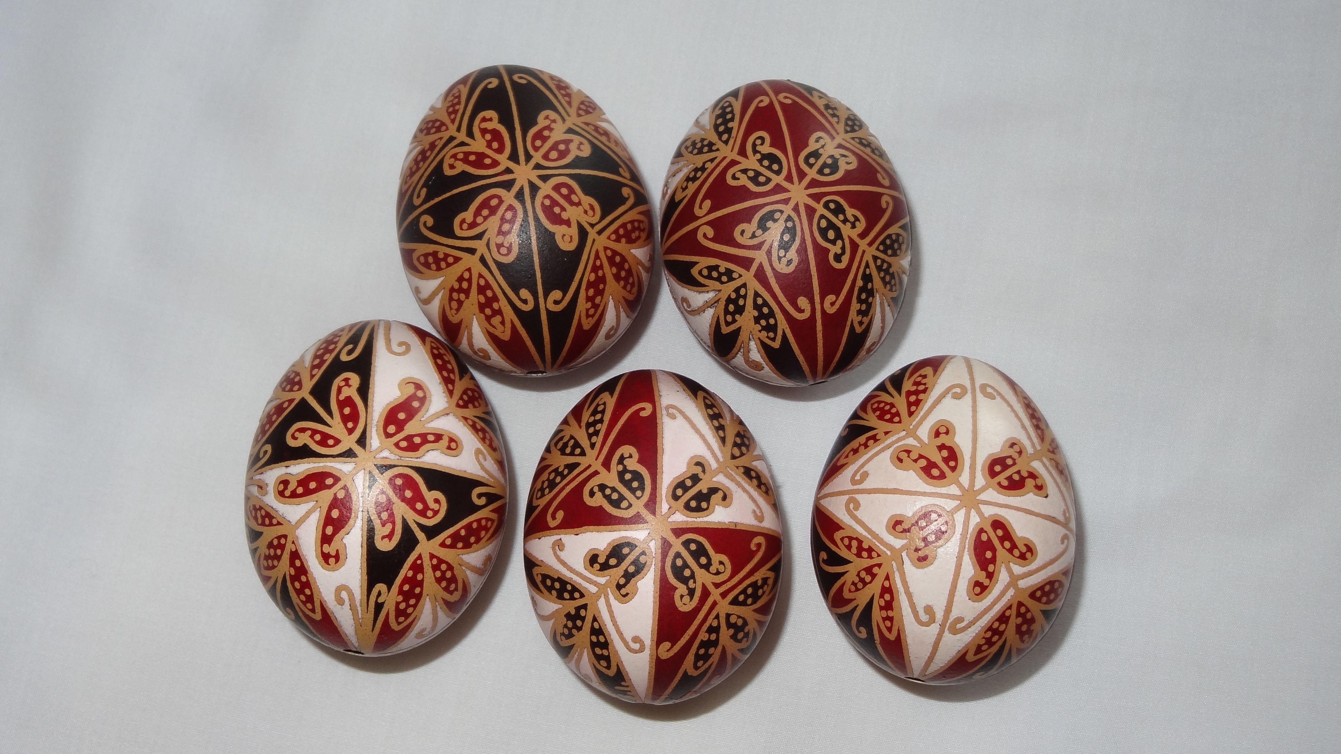 Himes Tojas Pysanky Painted Egg