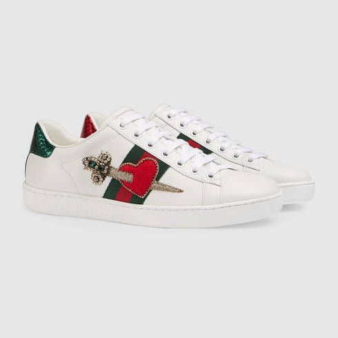 c70a05e4a Zapatilla Deportiva Ace con Bordado - Gucci Zapatillas de Deporte de Mujer  472990A38G09064