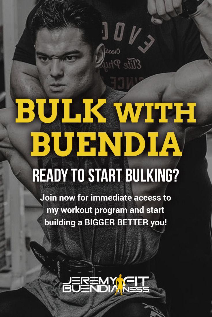 Bulk With Buendia In 2019 Best Diet Supplements Best