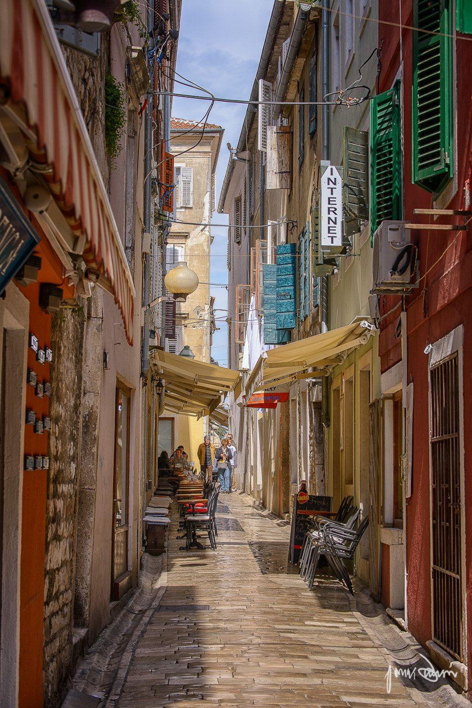 The Streets Of Zadar Zadar Street Croatia