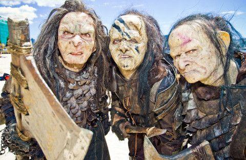 Orcs from The Hobbit terrify Wellington, New Zealand