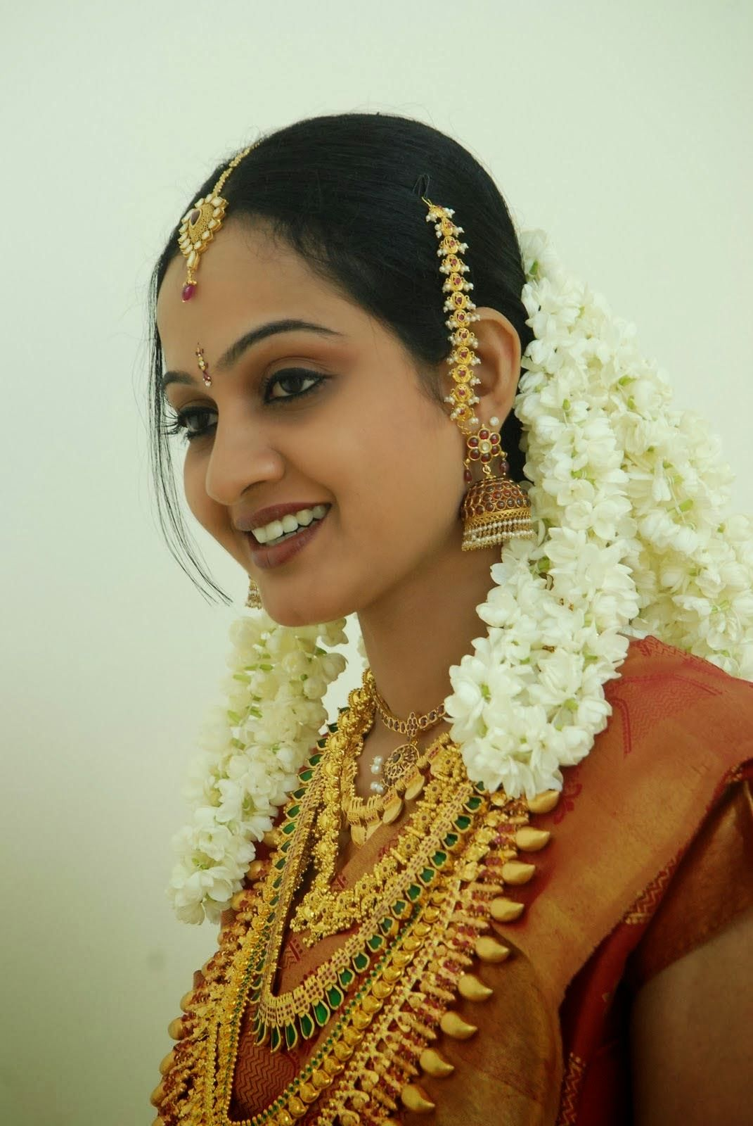 Marriage ornaments - More Wedding Makeup Inspiration Www Southindianweddings Com