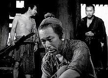 Rashomon, Starring: Toshiro Mifune, Machiko Kyo and Takashi Shimura.