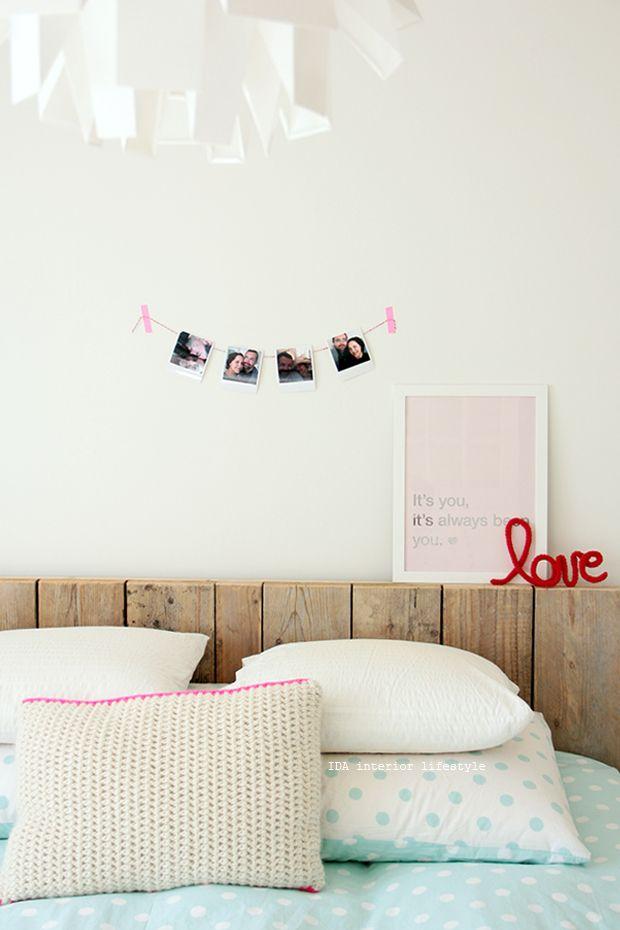 Thursday Pics {bedroom Wall Deco Idea}