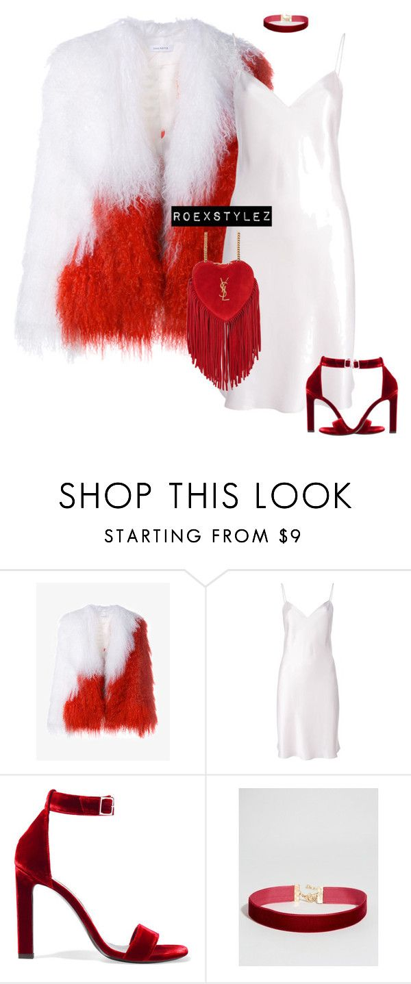 """""""-"""" by roexstylez89 ❤ liked on Polyvore featuring Saks Potts, Yves Saint Laurent and ASOS"""