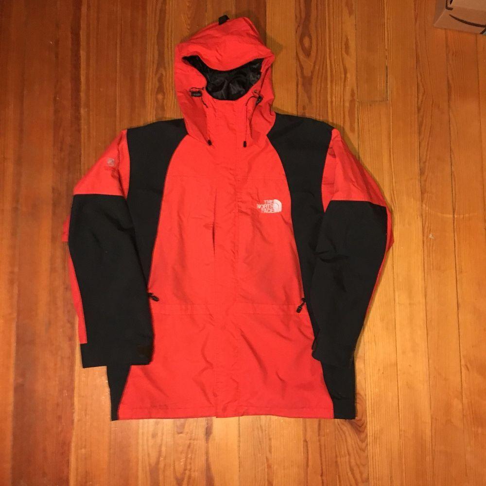 22ef9ed22 ebay north face summit series orange jacket fe6c8 b177e