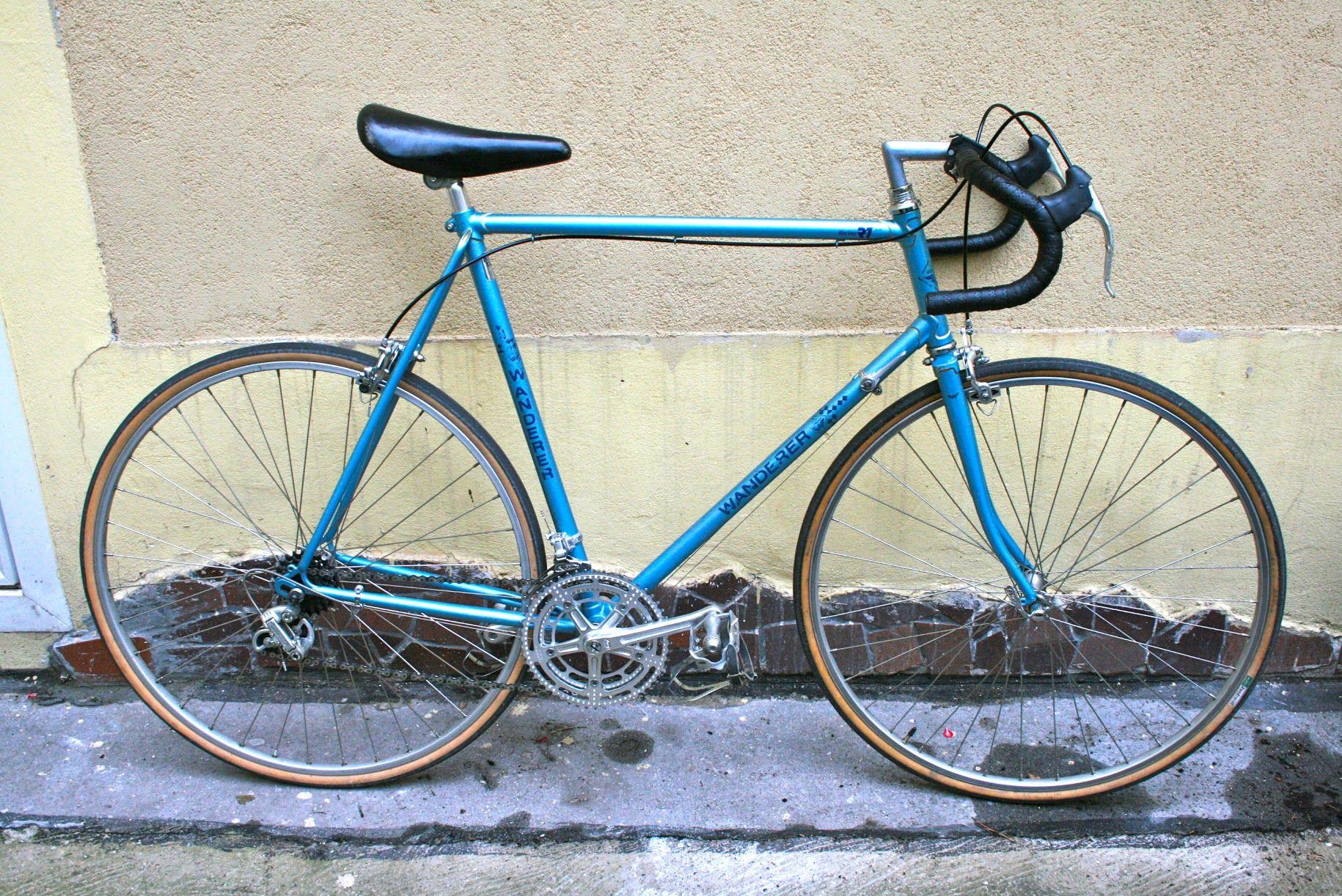 Wanderer 1982 Shimano 600 Cycling Handmade Steel Vintage Frame Bike Ride Wanderer Shimano Bicycle Vintage Bicycles Bike
