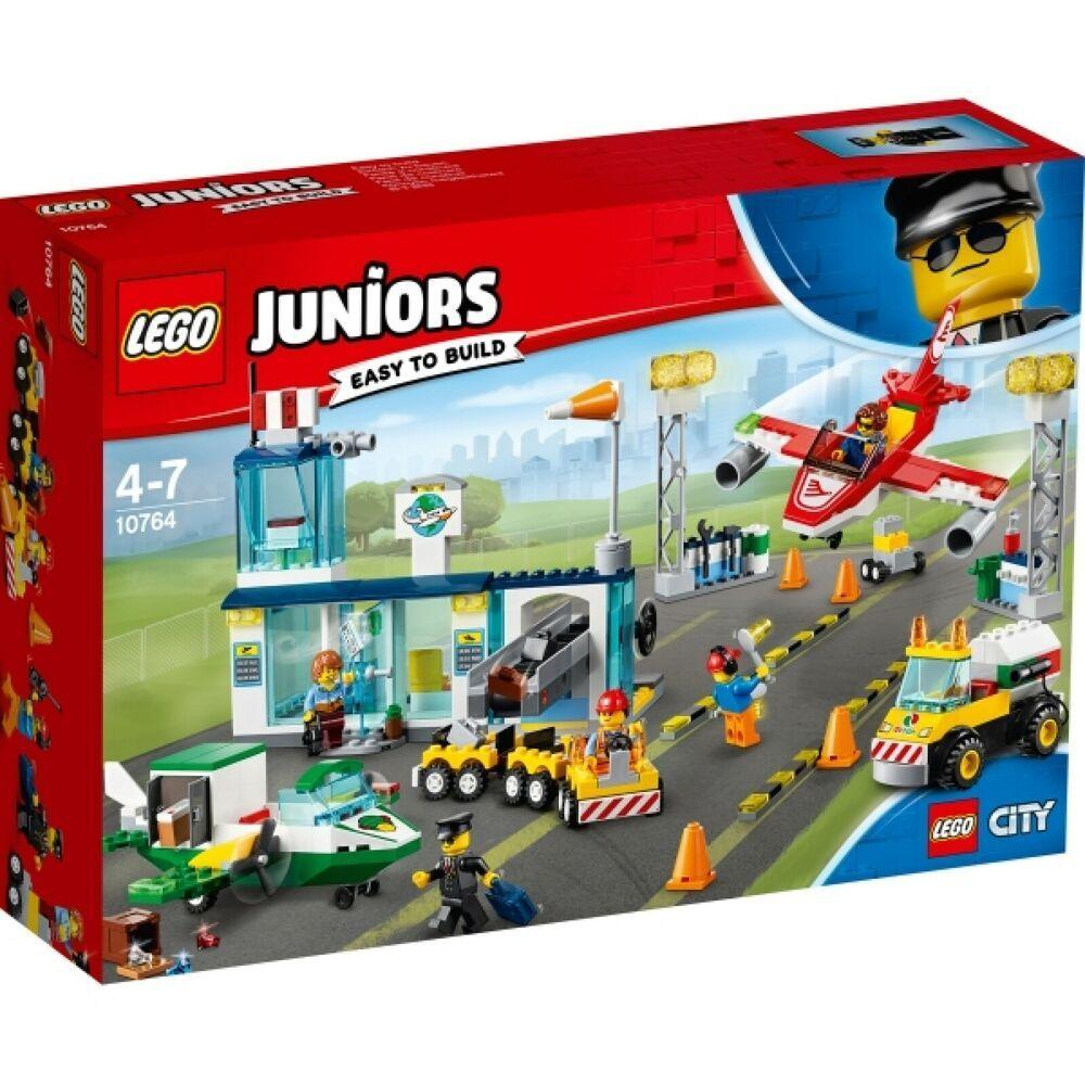 Ebay Sponsored Lego Juniors 10764 City Flughafen 376 Teile Ab 4 Jahre Lego Junior Flughafen Lego Technic