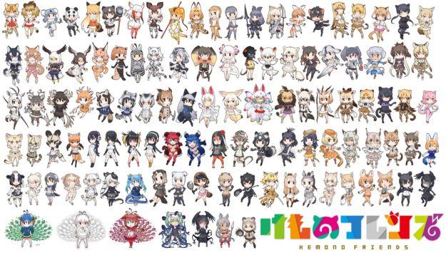 「けものフレンズ キャラクター一覧」の画像検索結果