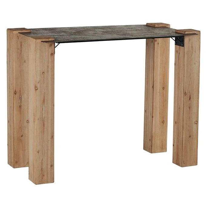 Table Haute Mange Debout Bois De Pin Et Plateau Metal Style Industriel 140cm Actus Gris Pier Import Table Haute Industrielle Table Haute Table Haute Cuisine