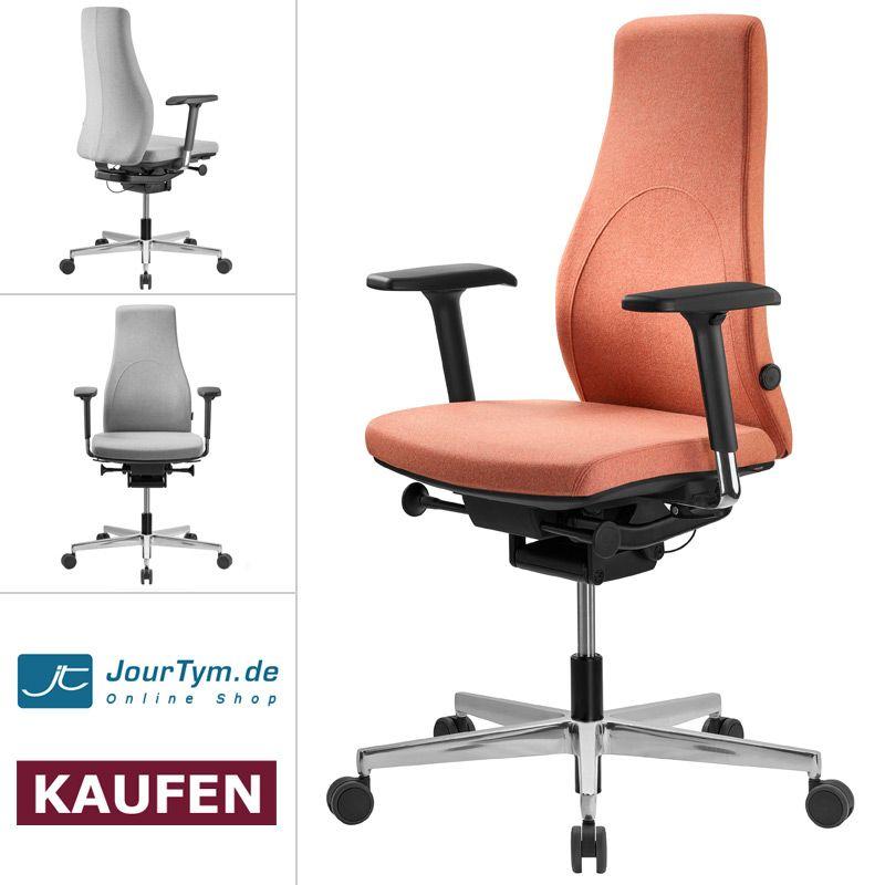 Bürostuhl Panthera GT6 Mit GLIDE TEC Mechanik, Profilierter Rückenlehne Und  Bequemem Sitz Fördert Dynamisches