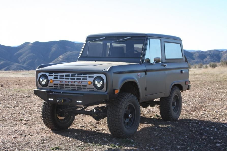 Icon Bronco Restored Re Engineered And Awesome Ford Bronco Bronco Classic Bronco
