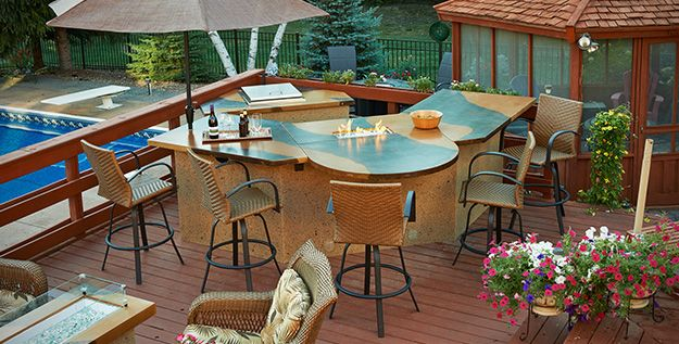 how to create your own outdoor kitchen island www outdoorrooms com