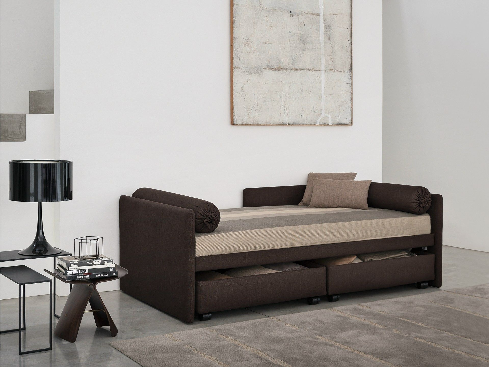 Phenomenal Fabric Bed Day Bed Duetto By Flou Ideas For Our Little Beutiful Home Inspiration Papxelindsey Bellcom