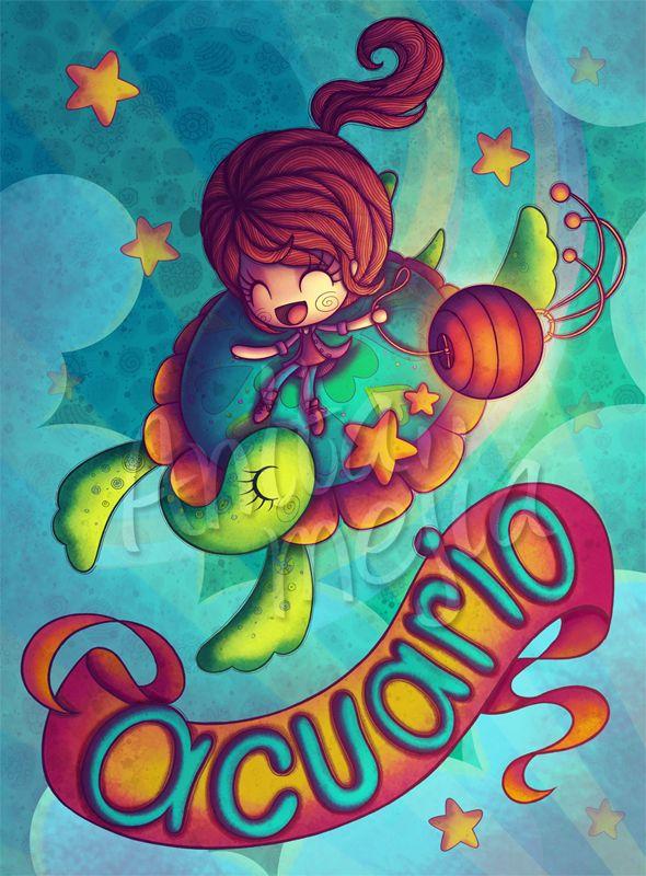 Acuario by Chocolatita