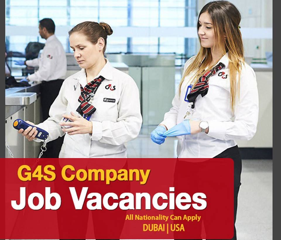 Jobs In G4s Good Remuneration Click Here To Apply Company Job Job Opening Job