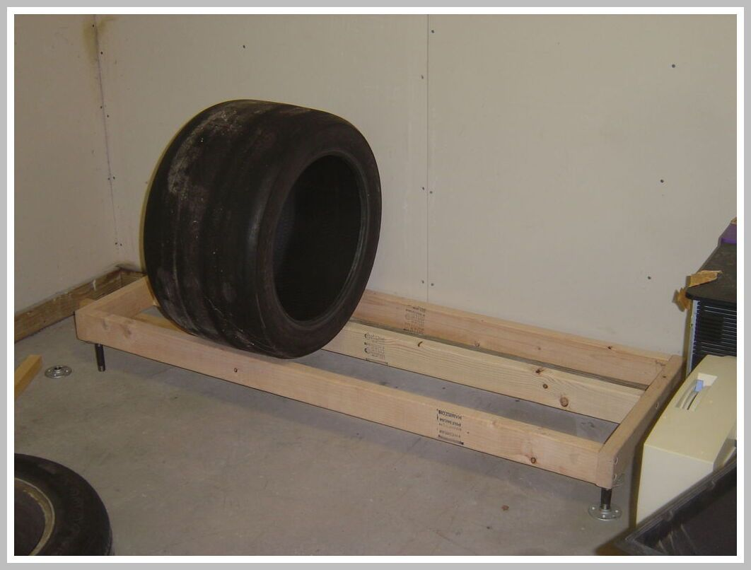 78 Reference Of Wooden Tire Rack In 2020 Tire Rack Tire Storage Rack Diy Storage