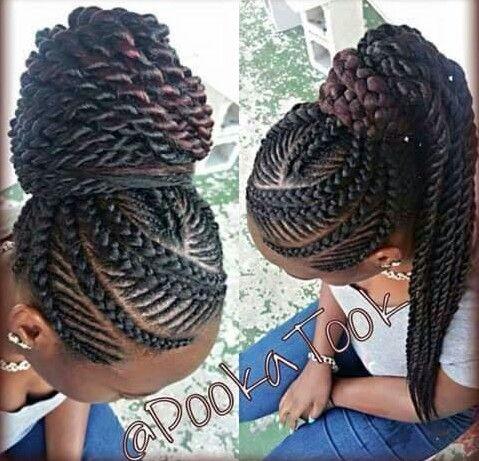 unique braids hair styles