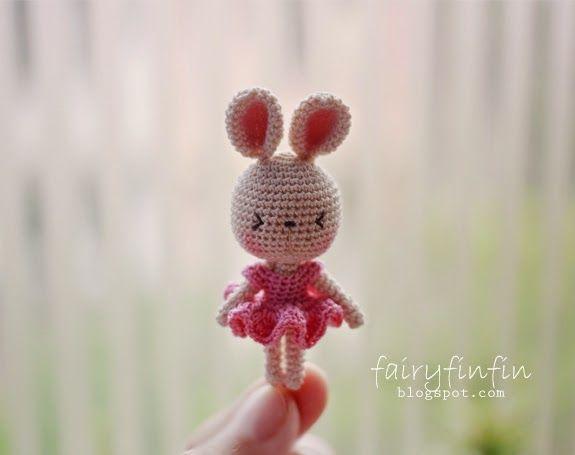 fairyfinfin: Crochet bunny doll, crochet rabbit doll, cute rabb...