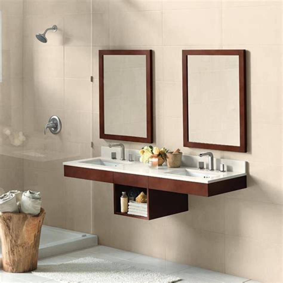 35 Best Wall Mounted Vanities For Small Bathrooms 2019 ...