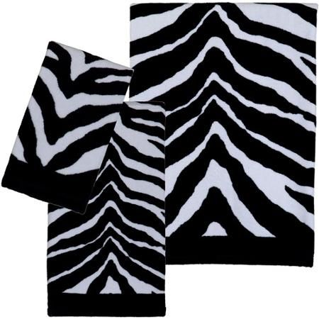Creative Bath Zebra Pc Towel Set College Bound Pinterest - Zebra bath towels for small bathroom ideas