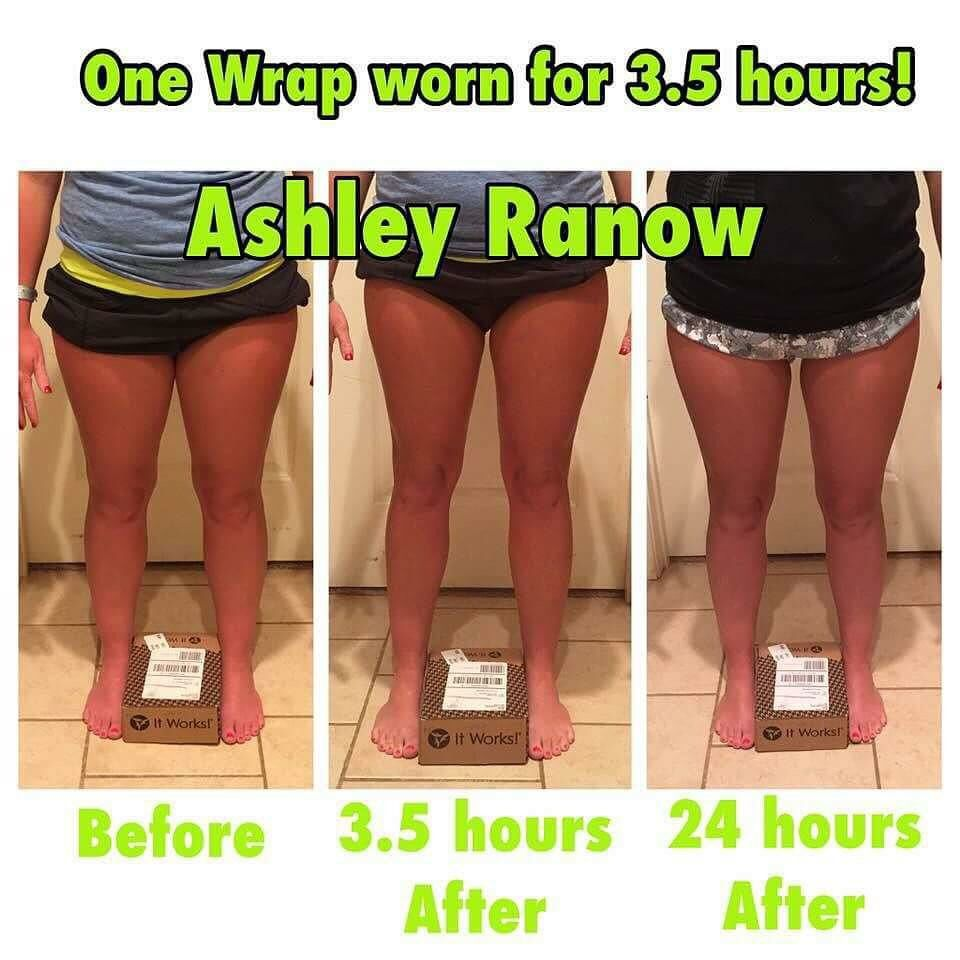 Loose inches when you tighten,tone, and firm in 45 minutes!! Get your body wraps at www.cmalloy.itworks .com