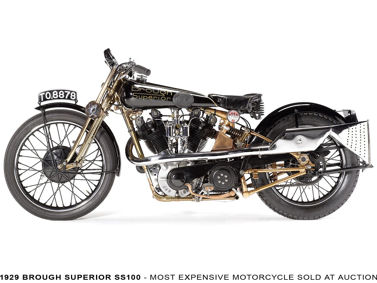A Brough Superior SS Rolls Royce Of Motorcycles Is The - Expensive motorcycle ever sold