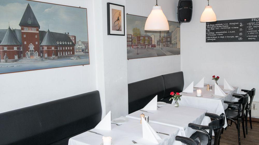 Indretning på Restaurant Europa