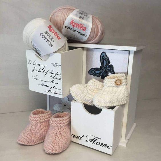 Como hacer patucos de bebé paso a paso | zapatos bebé | Pinterest ...