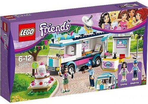 Lego Friends Heartlake News Van Set 41056 Emma Andrew Figures New