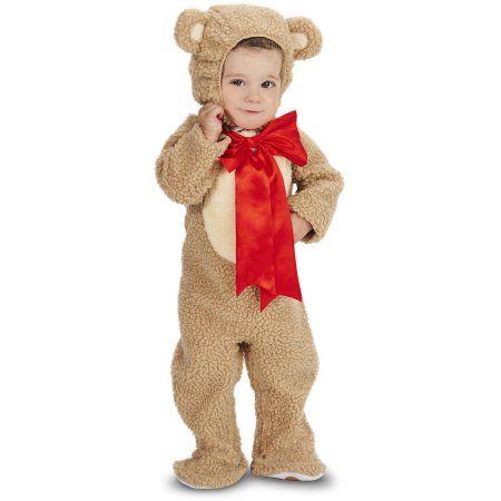 Lil\' Teddy Bear Infant Halloween Costume, Infant Boy\'s, Size: 18 ...