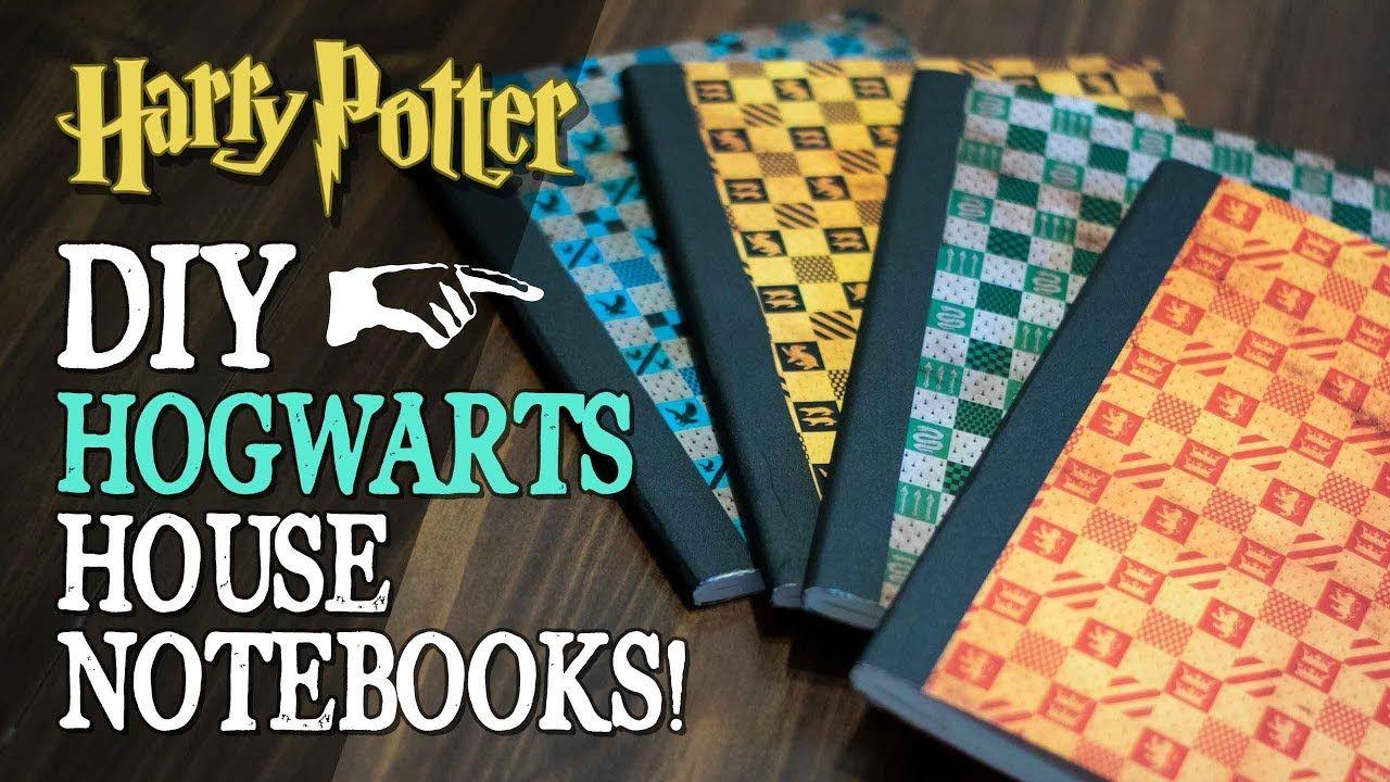 diy hogwarts house notebooks  hogwarts harry potter diy