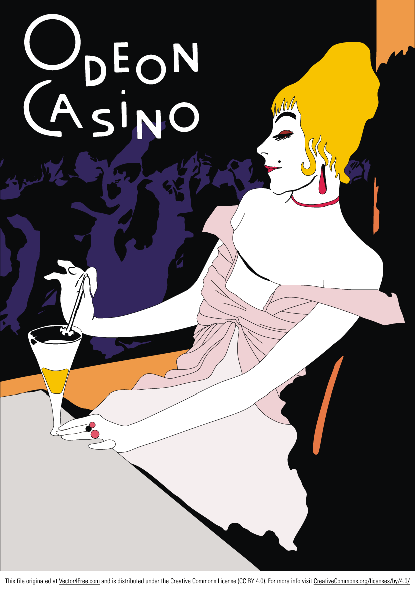 odeon casino poster was painted by henri de toulouse lautrec one of the most well known painters. Black Bedroom Furniture Sets. Home Design Ideas