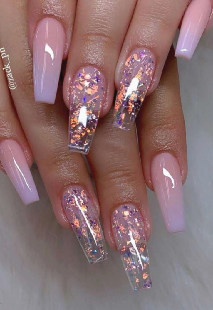 Pin By Whitney Franklin On Nails Ballerina Nails Designs Ombre