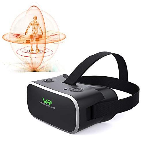 Mengen88 VR Goggles, 3D Virtual Reality WiFi Bluetooth Eight core 2GB Super Smart Virtual Reality Glasses Integrated Sports Movie Game Machine gyro Sensor #electronicgadgets