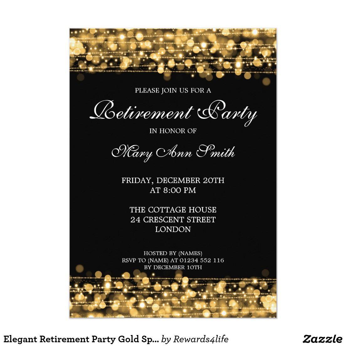Medium Of Retirement Party Invitations