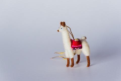 Llama Christmas Ornament (Proceeds go to Hope for Christmas ...