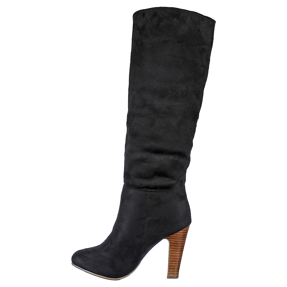 Buy Dollhouse Embrace Women's Black High Heel Boot online. Find more women's…