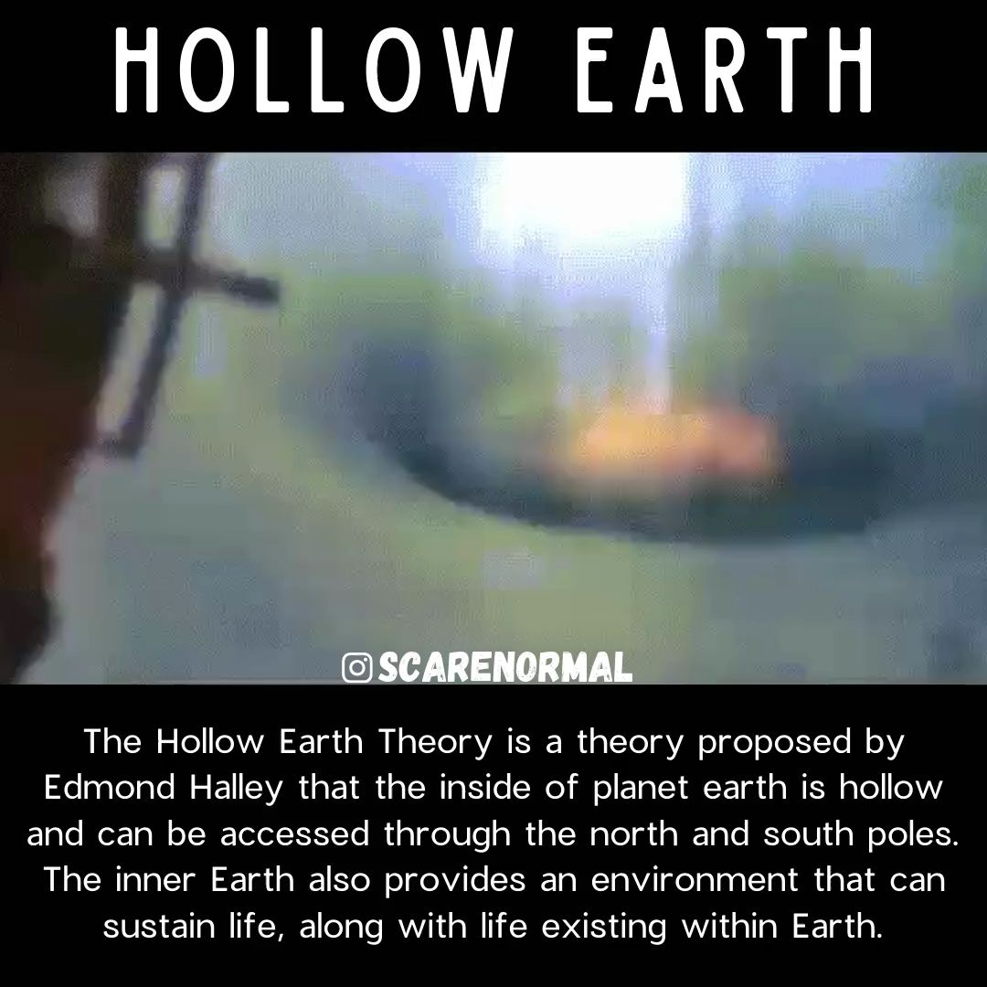 What Is The Hollow Earth Theory Video Video In 2020 Hollow