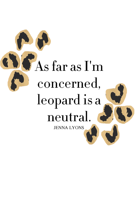 Custom Leopard and Color Word or phrase
