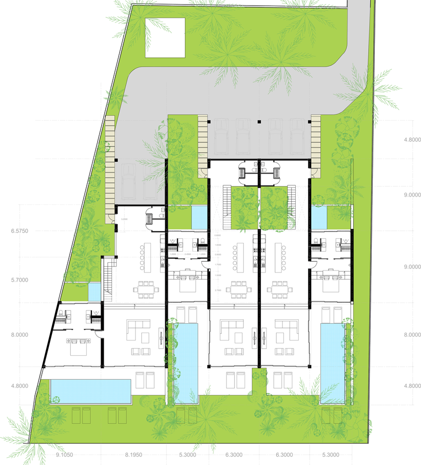 Stunning Modern Beach House by MM Architects VLLALAR