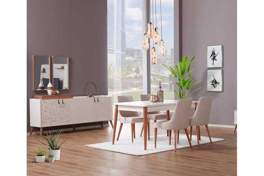 tezel fiore salon masa sandalye takimi mobilya evler sandalye