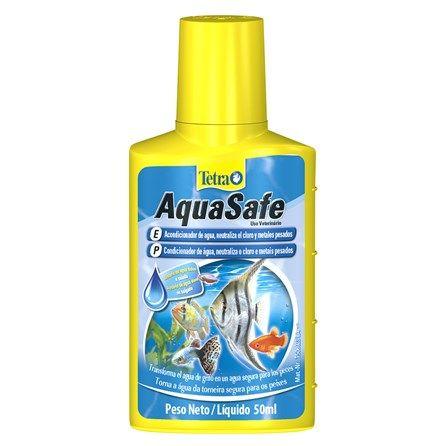 Tetra Aquasafe Water Condicionador de Água - Meuamigopet.com.br #peixe #fish #sea #mar #ocean #oceano #meamigopet